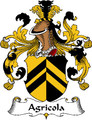 Agricola German Coat of Arms Print Agricola German Family Crest Print