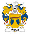 Agraz Spanish Coat of Arms Print Agraz Spanish Family Crest Print