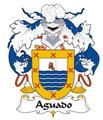 Aguado Spanish Coat of Arms Print Aguado Spanish Family Crest Print