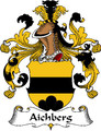 Aichberg German Coat of Arms Print Aichberg German Family Crest Print