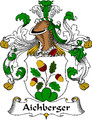 Aichberger German Coat of Arms Print Aichberger German Family Crest Print