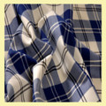 Ailsa Navy Bruichheath Dancing 13oz Mediumweight Tartan Wool Fabric
