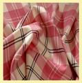 Ailsa Pink Bruichheath Dancing 13oz Mediumweight Tartan Wool Fabric
