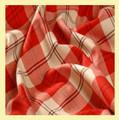 Ailsa Red Bruichheath Dancing 13oz Mediumweight Tartan Wool Fabric