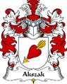 Akszak Polish Coat of Arms Print Akszak Polish Family Crest Print