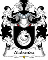 Alabanda Polish Coat of Arms Print Alabanda Polish Family Crest Print
