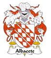 Albacete Spanish Coat of Arms Large Print Albacete Spanish Family Crest