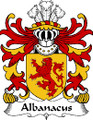 Albanacus Welsh Coat of Arms Print Albanacus Welsh Family Crest Print