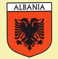 Albania Flag Country Flag Albania Decals Stickers Set of 3