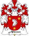 Albenas Swiss Coat of Arms Large Print Albenas Swiss Family Crest