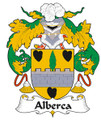 Alberca Spanish Coat of Arms Large Print Alberca Spanish Family Crest