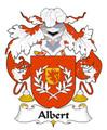 Albert Spanish Coat of Arms Large Print Albert Spanish Family Crest