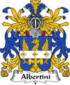 Albertini Italian Coat of Arms Large Print Albertini Italian Family Crest