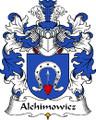 Alchimowicz Polish Coat of Arms Large Print Alchimowicz Polish Family Crest