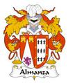Almanza Spanish Coat of Arms Large Print Almanza Spanish Family Crest