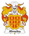 Almeida Spanish Coat of Arms Large Print Almeida Spanish Family Crest