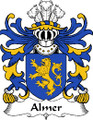 Almer Welsh Coat of Arms Print Almer Welsh Family Crest Print