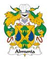 Almunia Spanish Coat of Arms Large Print Almunia Spanish Family Crest