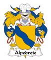 Alpedrete Spanish Coat of Arms Print Alpedrete Spanish Family Crest Print
