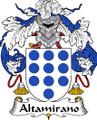 Altamirano Spanish Coat of Arms Large Print Altamirano Spanish Family Crest
