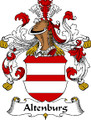 Altenburg German Coat of Arms Large Print Altenburg German Family Crest