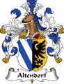 Altendorf German Coat of Arms Large Print Altendorf German Family Crest