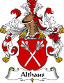 Althaus German Coat of Arms Large Print Althaus German Family Crest