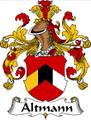 Altmann German Coat of Arms Print Altmann German Family Crest Print
