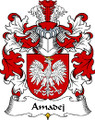 Amadej Polish Coat of Arms Large Print Amadej Polish Family Crest