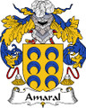 Amaral Spanish Coat of Arms Print Amaral Spanish Family Crest Print
