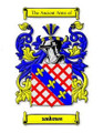 Ambrose Coat of Arms Surname Print Ambrose Family Crest Print