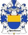 Amenhusen Swiss Coat of Arms Print Amenhusen Swiss Family Crest Print