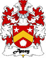 Amey Swiss Coat of Arms Large Print Amey Swiss Family Crest