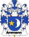 Ammann Swiss Coat of Arms Print Ammann Swiss Family Crest Print