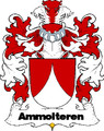 Ammolteren Swiss Coat of Arms Large Print Ammolteren Swiss Family Crest