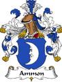 Ammon German Coat of Arms Print Ammon German Family Crest Print