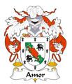 Amor Spanish Coat of Arms Print Amor Spanish Family Crest Print