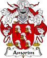 Amorim Spanish Coat of Arms Print Amorim Spanish Family Crest Print