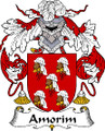 Amorim Spanish Coat of Arms Large Print Amorim Spanish Family Crest