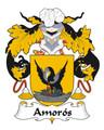 Amoros Spanish Coat of Arms Print Amoros Spanish Family Crest Print