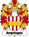 Ampringen Swiss Coat of Arms Print Ampringen Swiss Family Crest Print