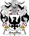 Anailha Spanish Coat of Arms Print Anailha Spanish Family Crest Print