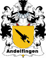 Andelfingen Swiss Coat of Arms Large Print Andelfingen Swiss Family Crest