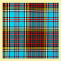 Anderson Modern 16oz Tartan Wool Fabric Heavyweight Swatch