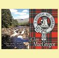 MacGregor Clan Badge Scottish Family Name Fridge Magnets Set of 2