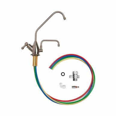 AlkaViva H2 Series Under Sink Conversion Kit in Brushed Nickel