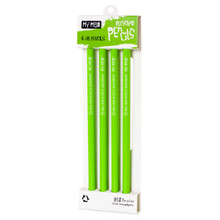 Recycled Newspaper Pencils - 4 Pack