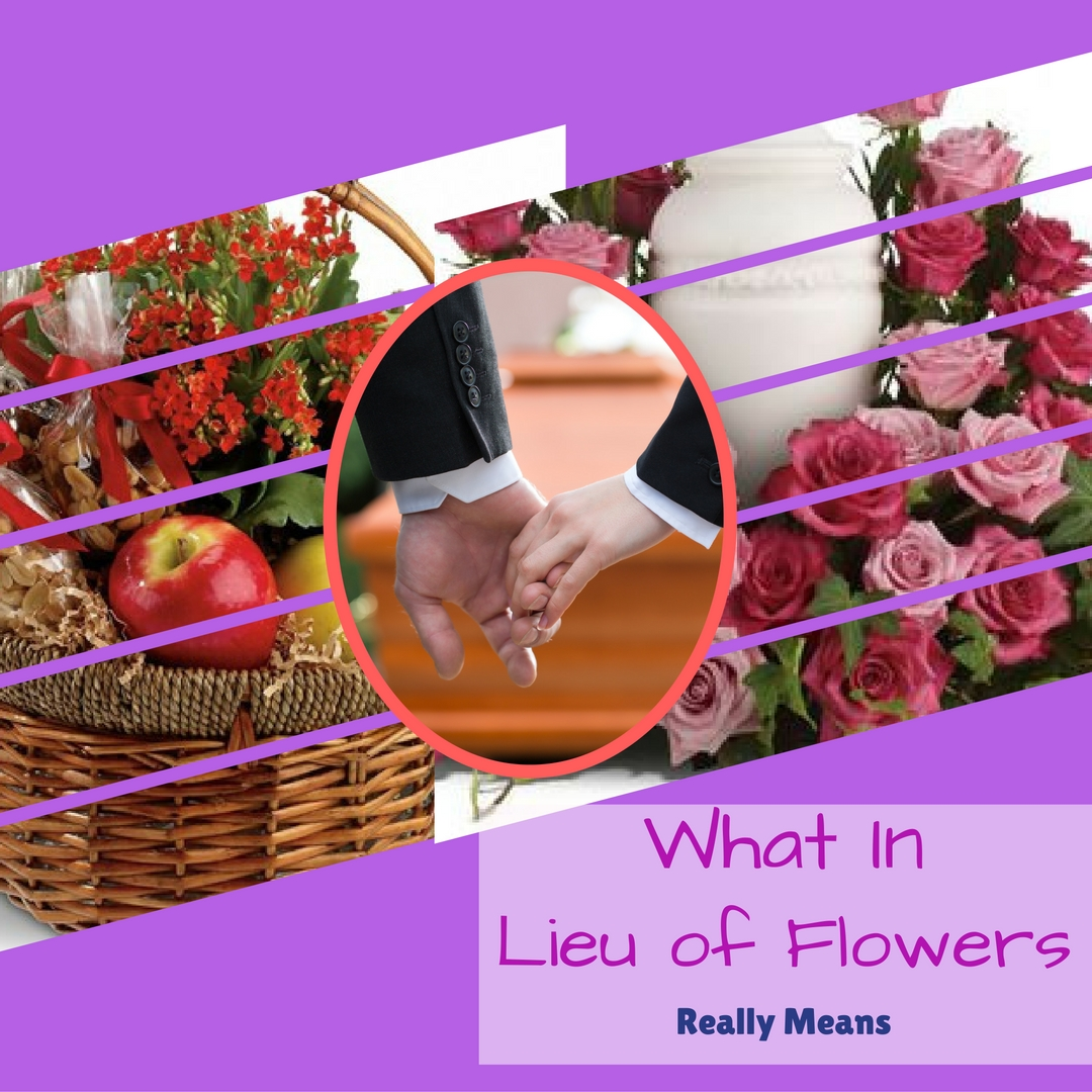 what does in lieu of mean houston funeral florist 1