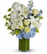 Blue Splendor Sympathy Bouquet