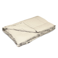 Dreamothis Down Alternative Brushed Crepe Trim Throw - Beige DR-TH-TRM-BEG